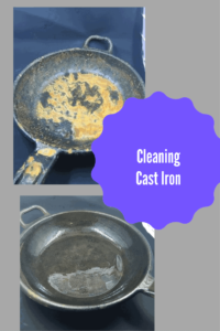 Cast Iron-Cleaning A Cast Iron Pan