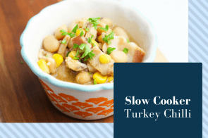 Slow Cooker-Turkey White Bean Chilli