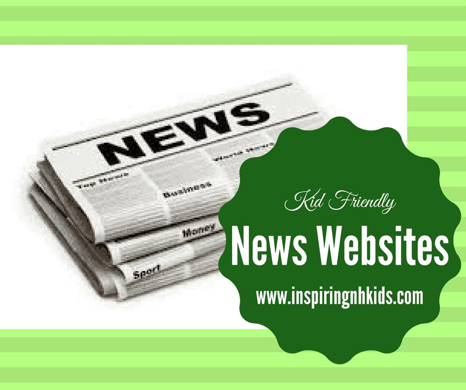 Kids Friendly News Sites