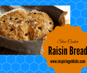 Slow Cooker-Cinnamon Raisin Bread