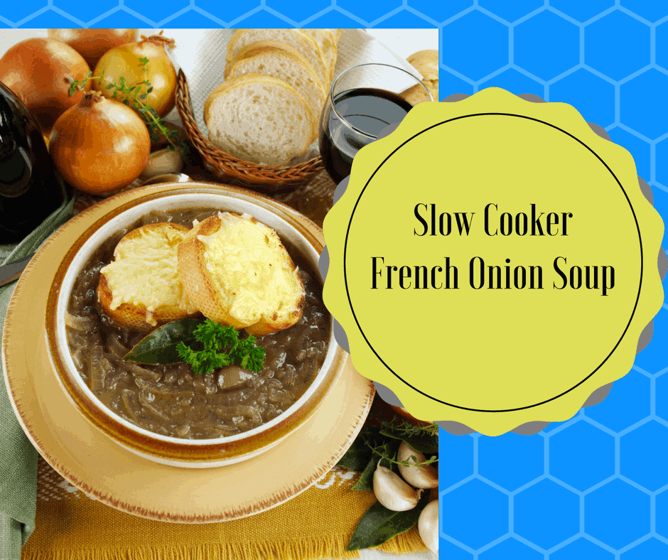 Slow CookerFrench Onion Soup