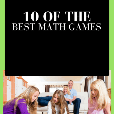 10 Amazing Math Games To Revolutionize Your Homeschool!!