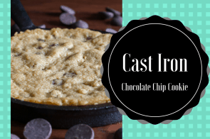 Cast Iron-Skillet Chocolate Chip Cookie