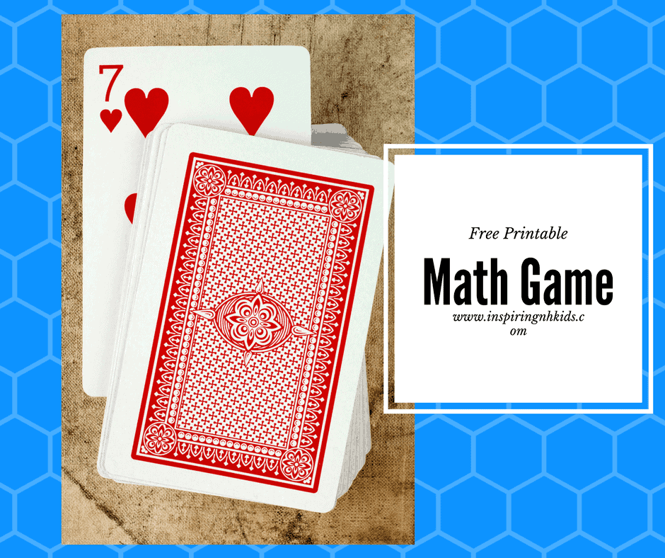 Free Printable Math Game