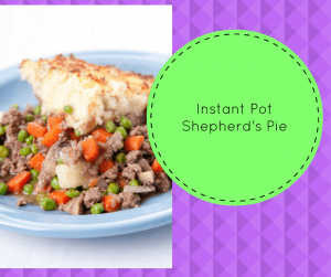 Instant Pot-Homemade Shepherd's Pie