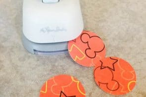 DIY Craft-Mickey Mouse Glass Marble Magnets