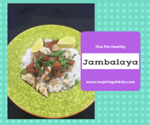 Healthy and Low-Fat —-One Pan Jambalaya