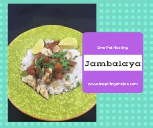Healthy and Low-Fat —-One Pan Jambalaya