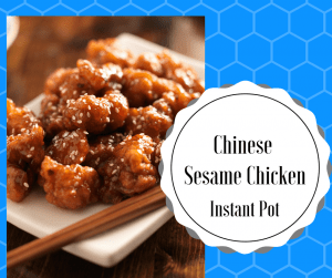 Instant Pot-Chinese Sesame Chicken