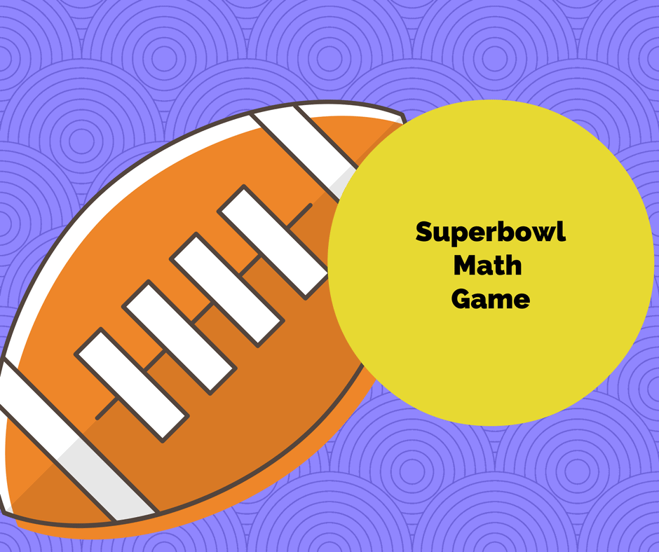 superbowl Math Game