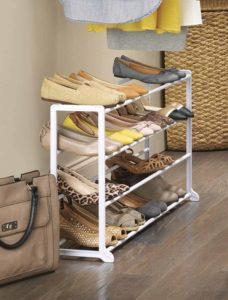 Whitmor-20 Pair Floor Shoe Rack, HUGE DEAL!