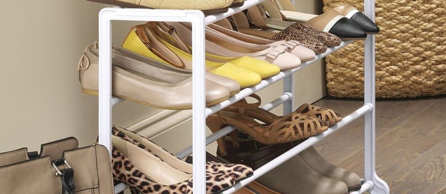 Whitmor-20 Pair Floor Shoe Rack, HUGE DEAL!