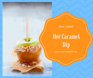 Slow Cooker-Hot Caramel Dip