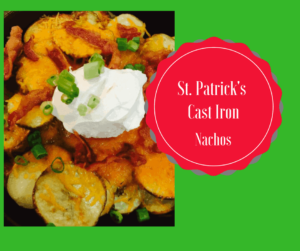 St. Patrick's Day-Irish Nachos