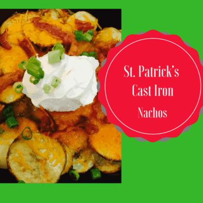 St. Patrick's Day-Irish Nachos