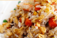 Instant Pot-Homemade Chinese Food-Chicken Fried Rice