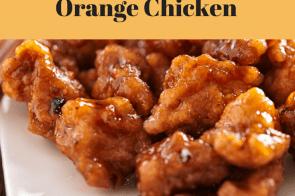 Slow Cooker-Chinese Orange Chicken