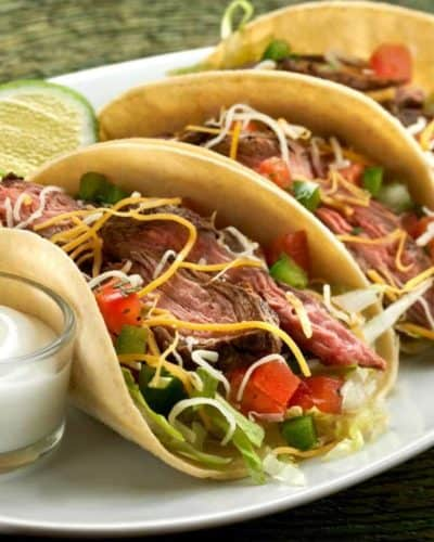 Instant Pot Steak Tacos