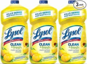 3-Pack of Lysol Cleaner–$6.18