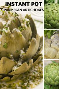 Instant Pot-Parmesan Artichokes