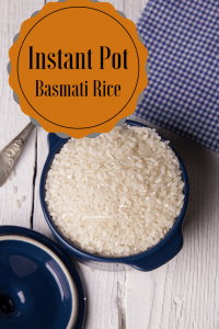 Instant Pot-Basmati Rice