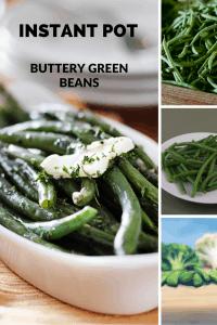 Instant Pot-Buttery Green Beans
