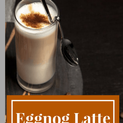 Coffee Break-Eggnog Lattes (Copycat Starbucks)