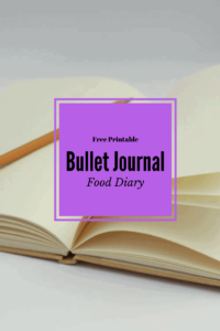 Free Printable, Food Diary, Daily Tracker