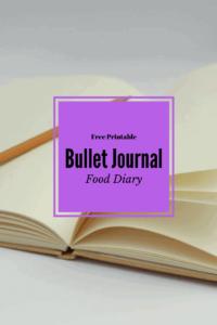 Free Printable, Food Diary, Daily Tracker