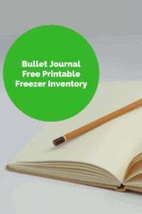 Free Printable Freezer Inventory List