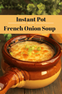 Instant Pot-French Onion Soup