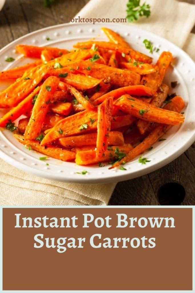 Instant Pot Brown Sugar Carrots (3)