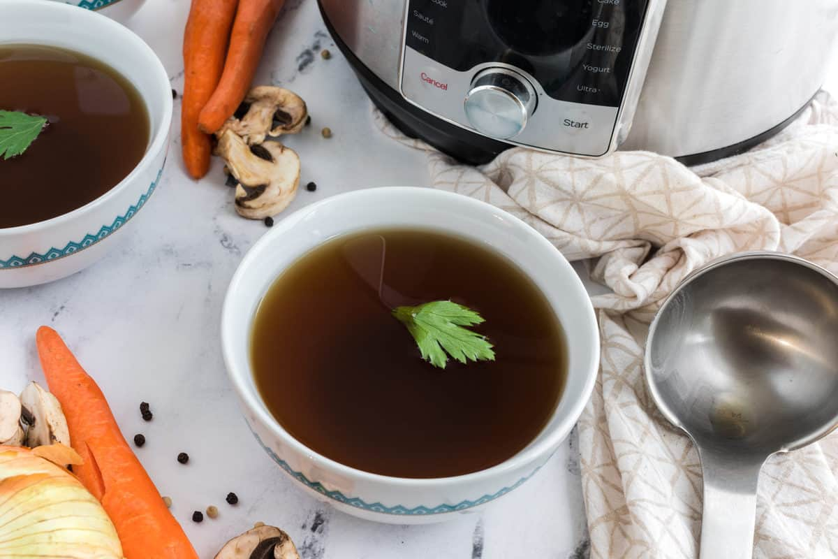How To Make Vegetable Broth In The Instant Pot