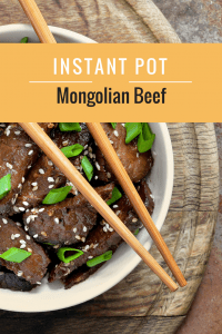 Instant Pot-Chinese Recipe–Mongolian Beef