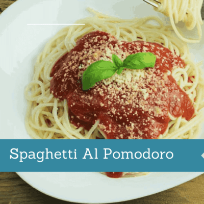 Instant Pot Spaghetti Al Pomodoro
