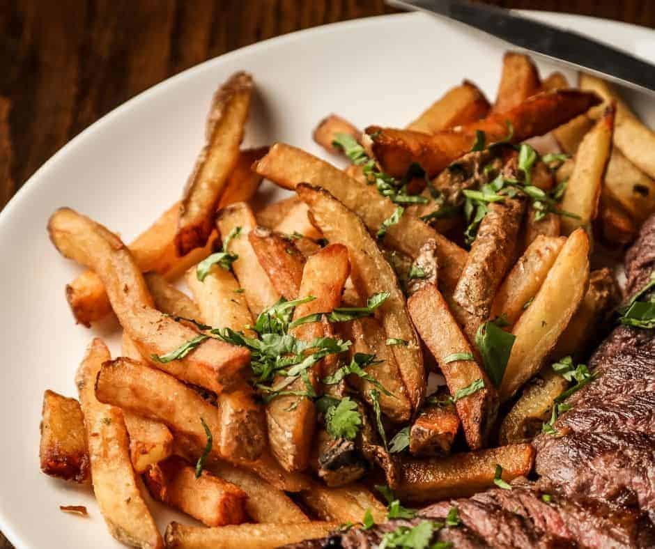 Air Fryer Steak Fries