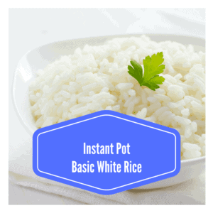 Instant Pot-Basic White Rice