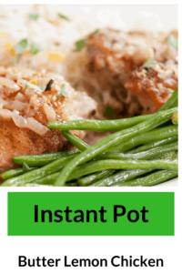 Instant Pot-Butter Lemony Chicken