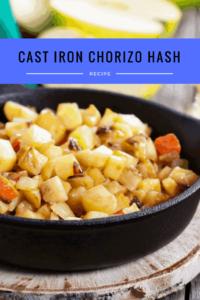 Easy Cast Iron Chorizo Hash