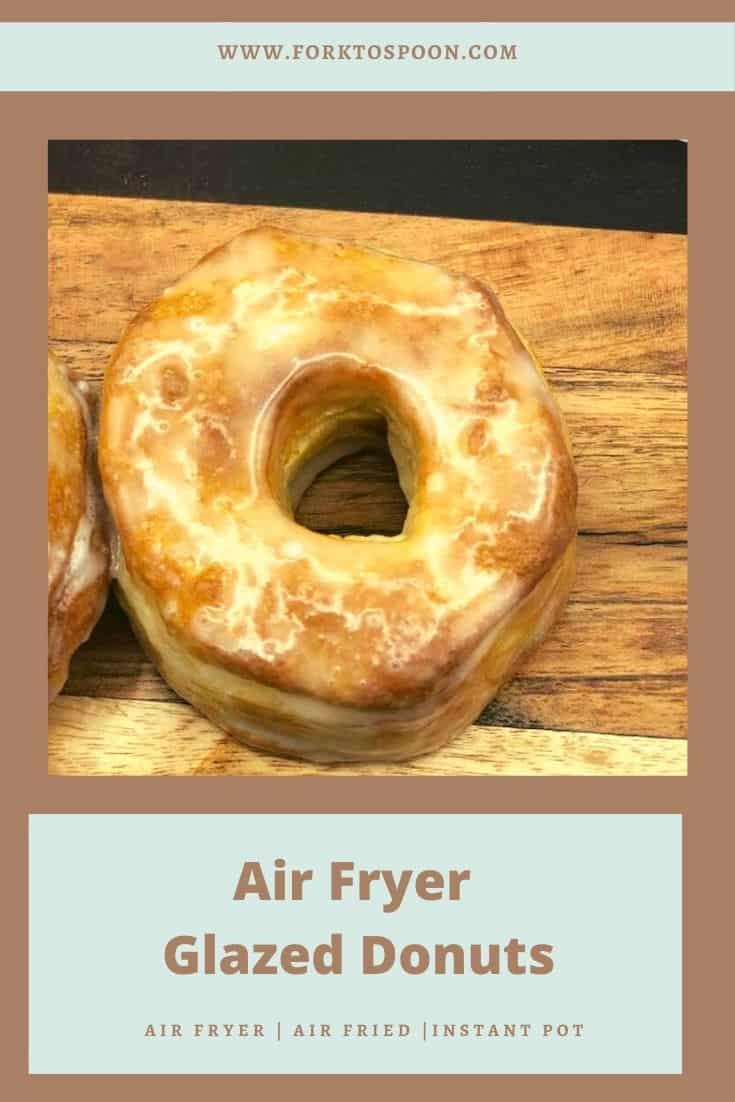 This was one of my first recipes. I think it's a perfect recipe for any new air fryer user. And it couldn't be any easier, and if you have kids or a husband with a sweet tooth, they will really love you after this recipe.  Here is my recipe for Air Fryer Biscuit Donuts.