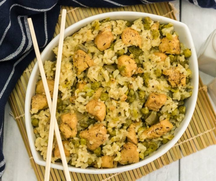 Instant Pot Chicken and Rice is one of my favorite Instant Pot One-pot Meals. There is nothing better than a perfectly cooked and seasoned chicken and rice dish!