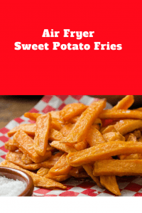 The Most Perfect Sweet Potato Fries in An Air Fryer