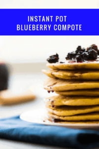 Instant Pot-Blueberry Compote