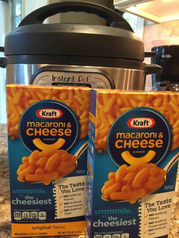 Making Boxed Macaroni In The Instant Poteasy Peasy