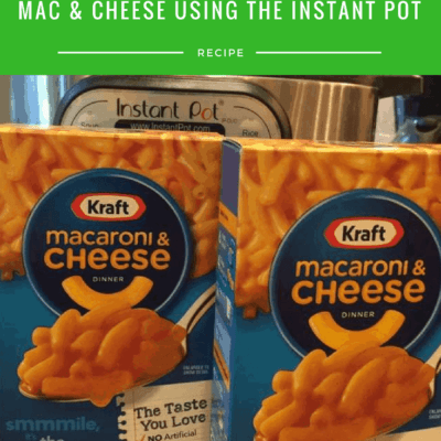 Making Boxed Macaroni in the Instant Pot—Easy Peasy..