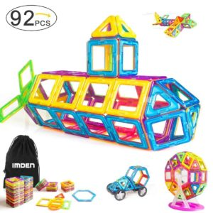 Amazon: Magnetic Blocks 92-Piece Building Set Only $25.55 Today!