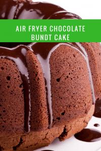 Air Fryer-Homemade Chocolate Cake