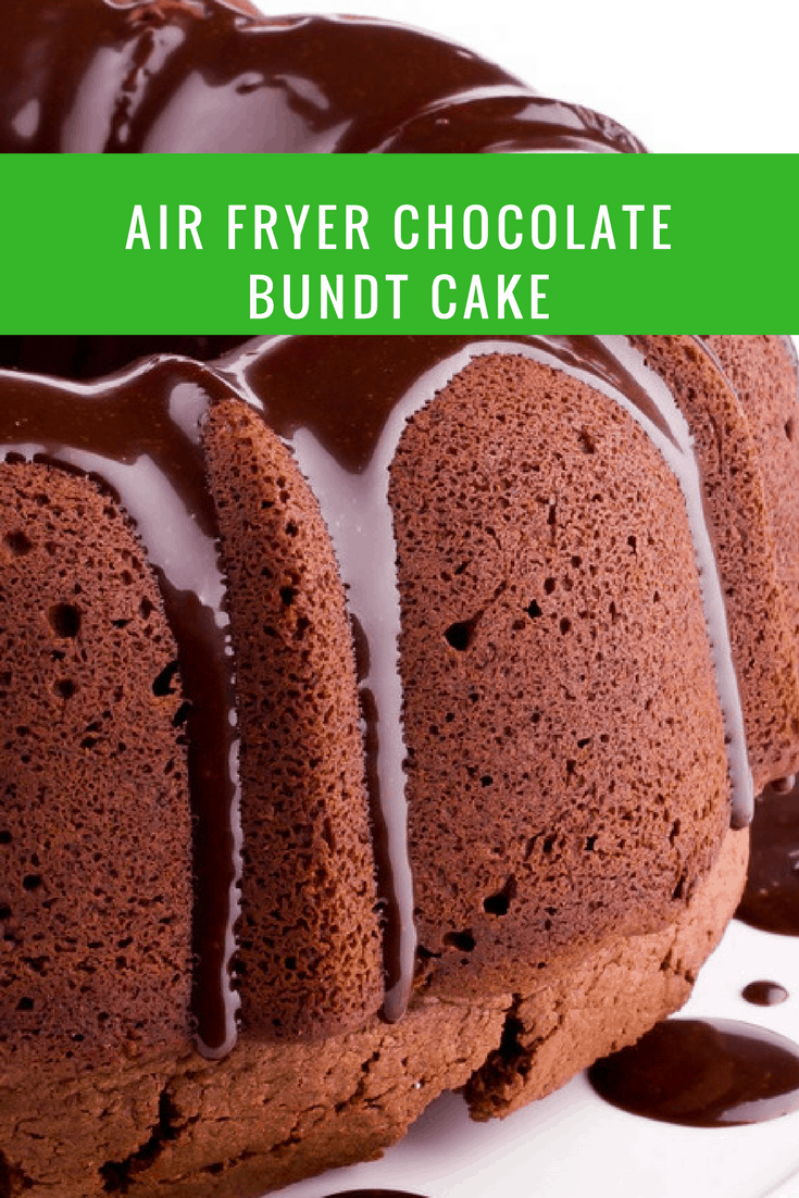 Air Fryer Homemade Chocolate Cake
