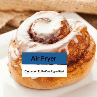 Air Fryer-The Easiest Recipe & The Easy Ingredient List—There is Only One!