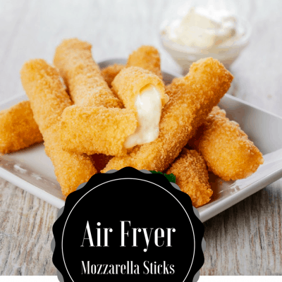 Air Fryer-Mozzarella Sticks